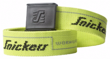 Snickers 9033 Logo Belt (Yellow)